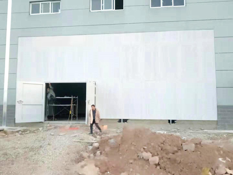 河北凯瑞化工安装轻质泄爆墙工程