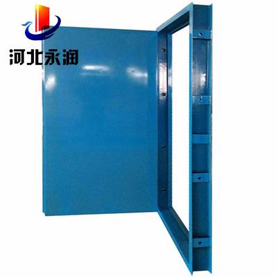 防爆门当隔墙上需要开设门窗时,应采用乙级防火门窗